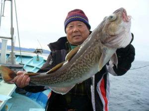 2017年 鱈釣り